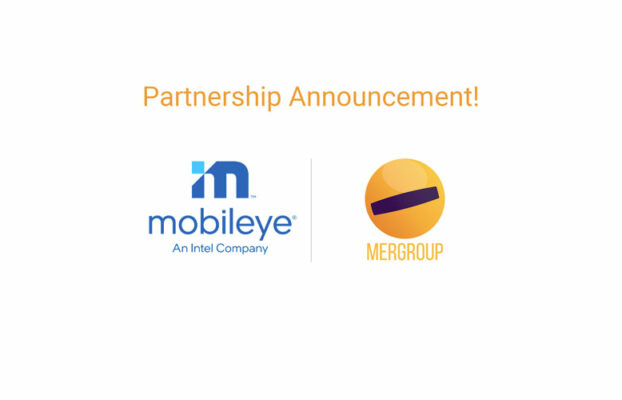 Mergroup starts partnership with Mobileye, Intel's leading supplier of Advanced Driver Assist Systems and autonomous driving business.